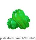 green pepper 32937045