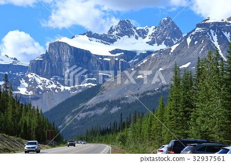 加拿大洛基山脉 落基山脉 落基山 32937561