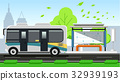 Public transport is efficient in maintaining. 32939193