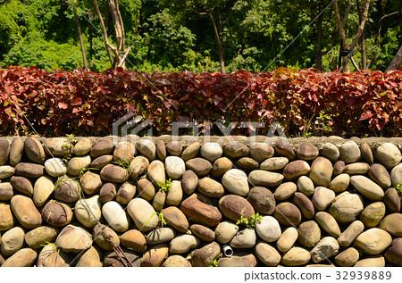 卵石,石頭,造景,公園 32939889