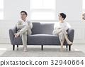 부부, 생활, 소파 32940664