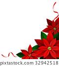 flower, vector, red 32942518