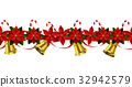 vector, xmas, flower 32942579