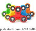 Group of fidget finger spinner stress 32942606