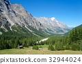 Monte bianco Montblanc in summer 32944024