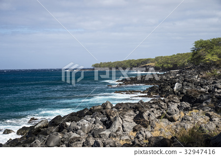 hawaiian islands, historic parks, scape 32947416