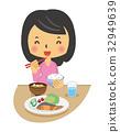 임산부, 임부, 식사 32949639