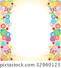 背景素材-雅な和柄1(テクスチャ) 32960123