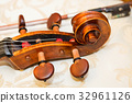 fingerboard of double bass, string instruments 32961126