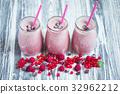 jar, milkshake, berries 32962212
