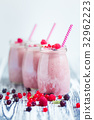 jar, milkshake, berries 32962223