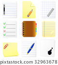 Documents icons set 32963678