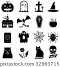 Halloween icon set 32963715