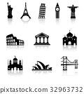 Landmarks Icons 32963732