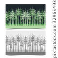tree, illustration, green 32965493