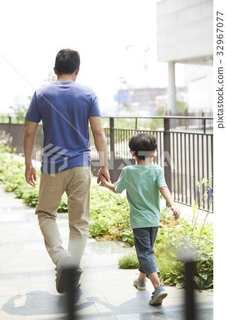 아빠와아들,가족 32967077