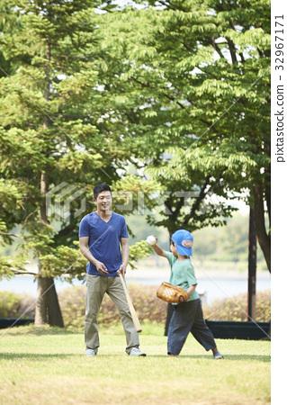 아빠와아들,가족 32967171