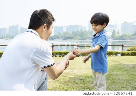 아빠와아들,가족,호수공원,일산,고양시,경기도 32967241