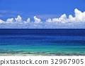 바다, 해안, 하늘 32967905