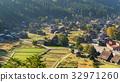 Japnese Shirakawago village 32971260