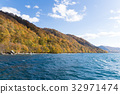 Lake towada at autumn season 32971474