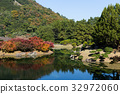 Ritsurin Garden in Autumn 32972060
