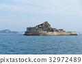 Hashima Island in Nagasaki city of Japan 32972489