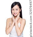 Beautiful asian woman 32976497