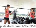 woman, female, sport 32976959