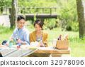 野餐 翠綠 鮮綠 32978096