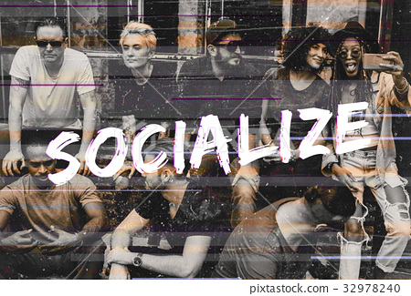 Diversity Group of Friendship Togetherness Society Socialize 32978240
