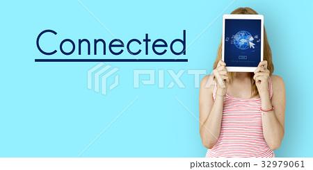 Internet Social Technology Digital Connection Device 32979061