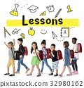 School Institute Study Learning Concept 32980162