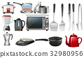 Kitchen utencils and electronic devices 32980956