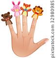 手指 人類 木偶 32980985