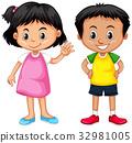 child girl boy 32981005