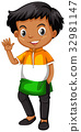 isolated, kid, student 32981147