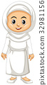 white outfit Indonesia 32981156