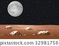 scene moon galaxy 32981756