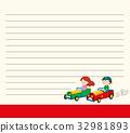 kid, blank, template 32981893