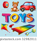 Different types of toys 32982011