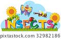 热带 昆虫 花园 32982186