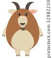 animal, character, goat 32982239