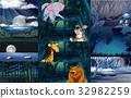 animal, mammal, giraffe 32982259