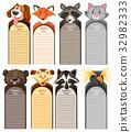 different types of wild animals 32982333