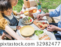 picnic, table, fashionable 32982477