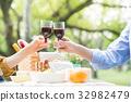 野餐 桌子 桌 32982479