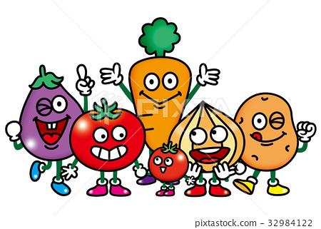 蔬菜 人物 爆开 32984122