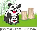 팬더, 판다, 웃는 얼굴 32984587