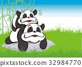 팬더, 판다, 부모와 32984770